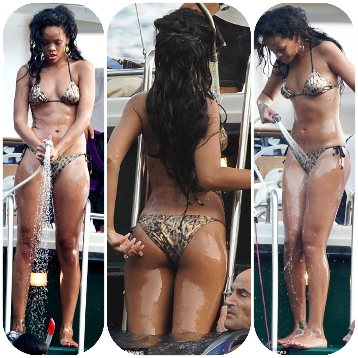 italy Rihanna bikini